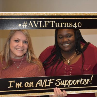 AVLF Celebrates 40th Birthday with over $12,000 in Matched Donations