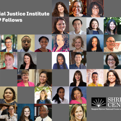 Safe and Stable Homes Team Members Named 2019 Racial Justice Institute Fellows