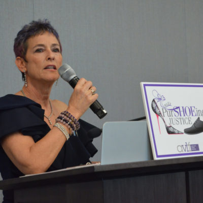PurSHOEing Justice Event Uplifts Survivors of Intimate Partner Abuse