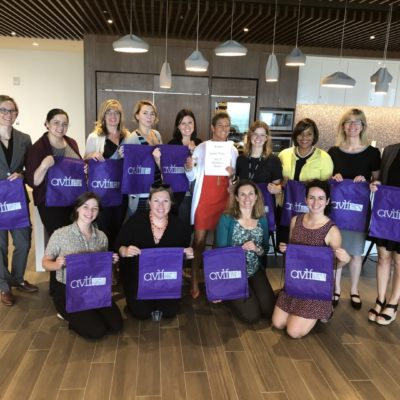 Women of the Board Pack Emergency Kits for Safe Families Office Clients