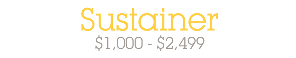 Sustainer - $1,000-$2,499