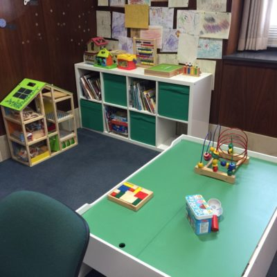 Safe Families Office Children's Corner Receives Makeover