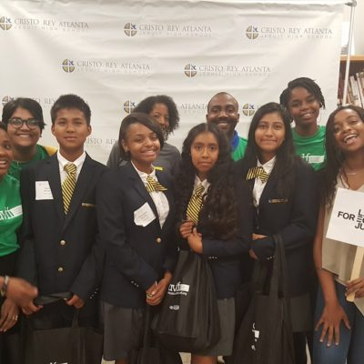 AVLF Drafts Our New Cristo Rey Interns