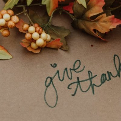 Letter From Leadership: Taking Time for Gratitude